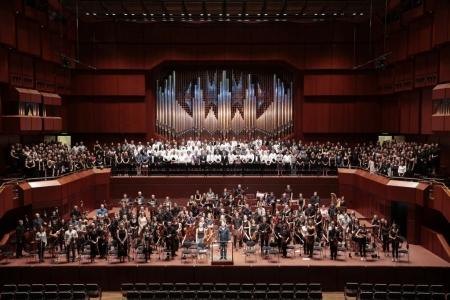 Beethovens Neunte, Alte Oper 17.06.18 (Foto: Uwe Dettmar)